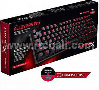Keyb Gaming HYPERX Alloy FPS PRO MX Cheery Red  (HX-KB4RD1-US/RI